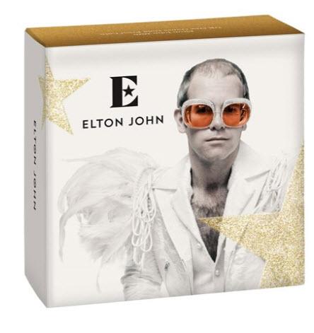 グレートブリテン2020年音楽の伝説シリーズエルトンジョン1オンス100ポンドプルーフ金貨PF70UCAM