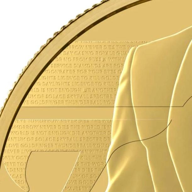 グレートブリテン2020年エリザベスII世2オンス200ポンドプルーフ純金金貨ジェームズボンド3rd-007NGC-PF70UCAMファーストリリース箱付き