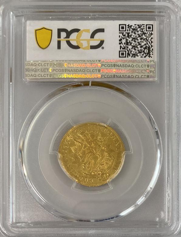 ハンガリー 1765-KB年マリア・テレジアダカット金貨PCGS-MS61
