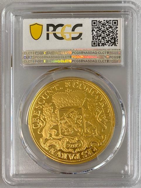 オランダ2019年プルーフゴールドメダル1ダカットライダーPCGS-PR69DCAM39369583