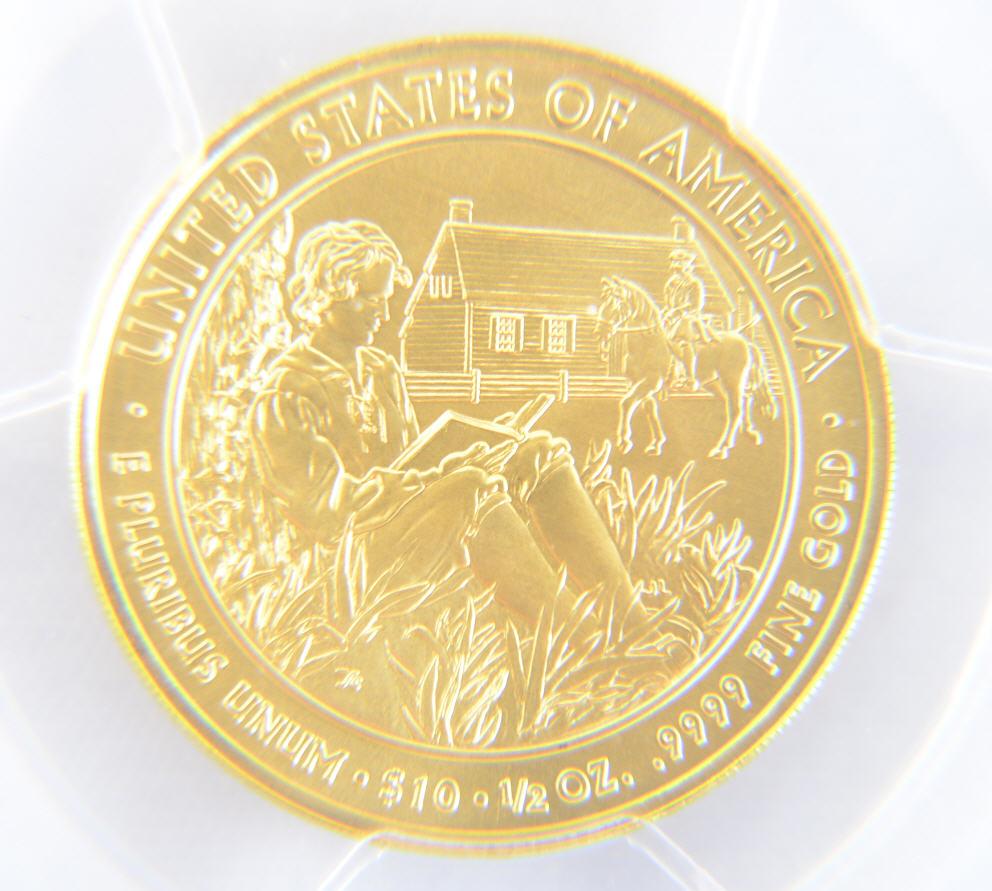 【動画あり】2008-Wヴァンビューレン・リバティ10ドル金貨$10PCGS-MS70