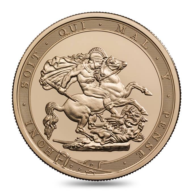 【動画あり】グレートブリテン2017年エリザベスII世200周年記念5ポンド金貨PCGSMS70