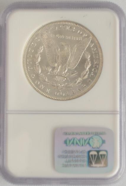 アンティークコイン アメリカ 1ドル モルガン銀貨1884-O  S$1 NGC MS66