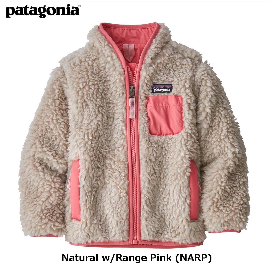 ベビー・レトロX・ジャケット 2019モデル Natural w/Range Pink (NARP) / 【patagonia パタゴニア】 61025