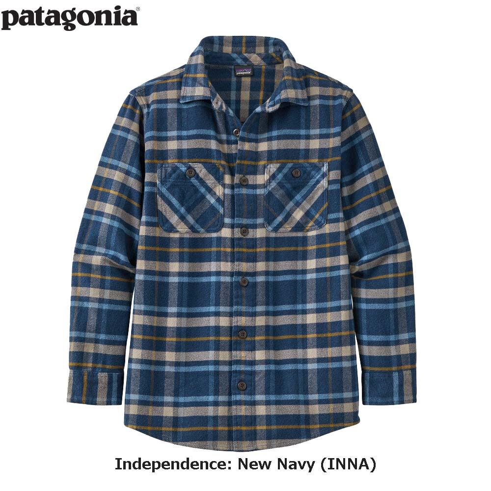 ボーイズ・フィヨルド・フランネル・シャツ 62610 / 【patagonia パタゴニア】