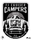 FJ CRUISER CAMPERS DAYS 2020 STICKER 【FJクルーザーキャンパーズデイ 2020ステッカー】