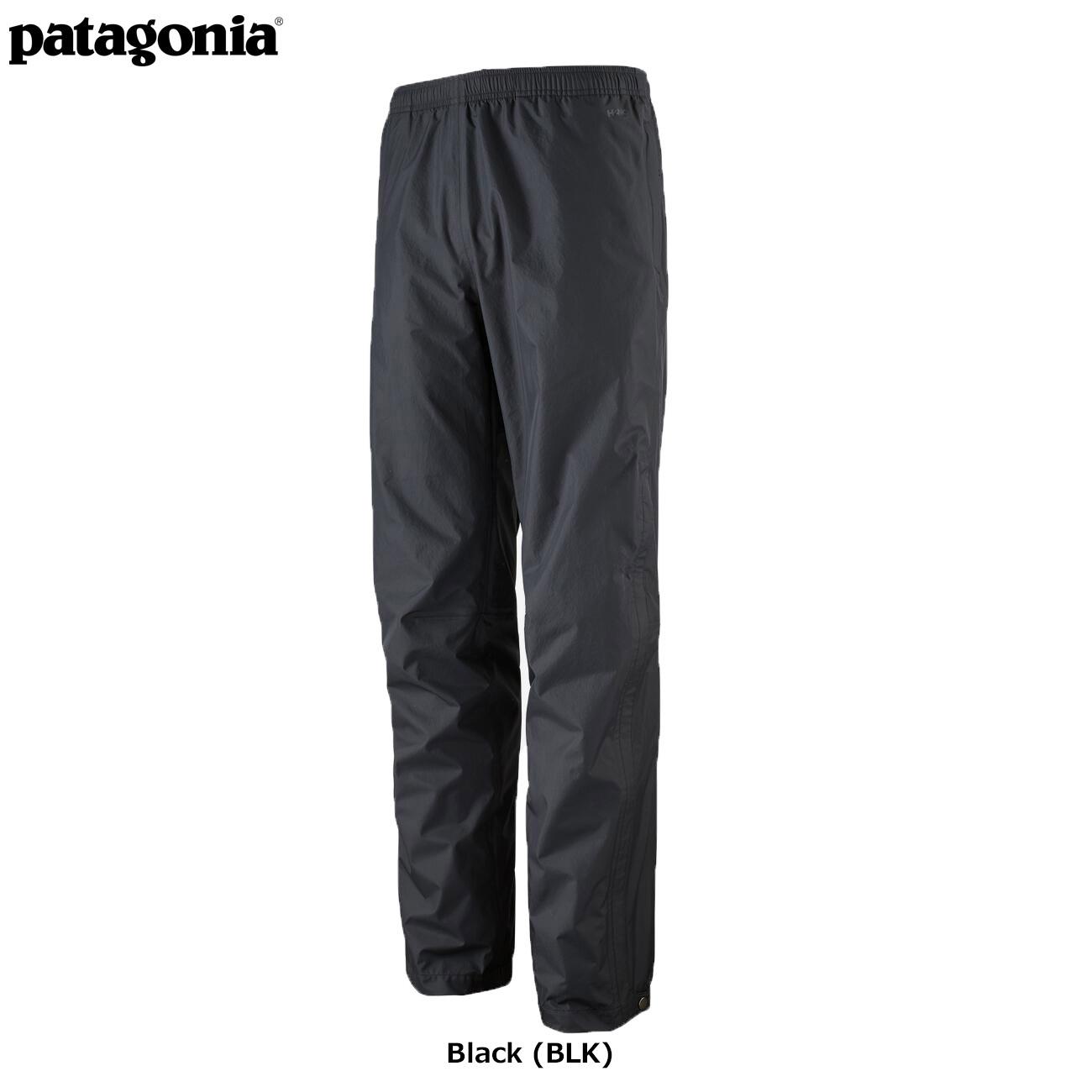 メンズ・トレントシェル3L・パンツ(レギュラー) BLACK (BLK) / 【patagonia パタゴニア】 85265
