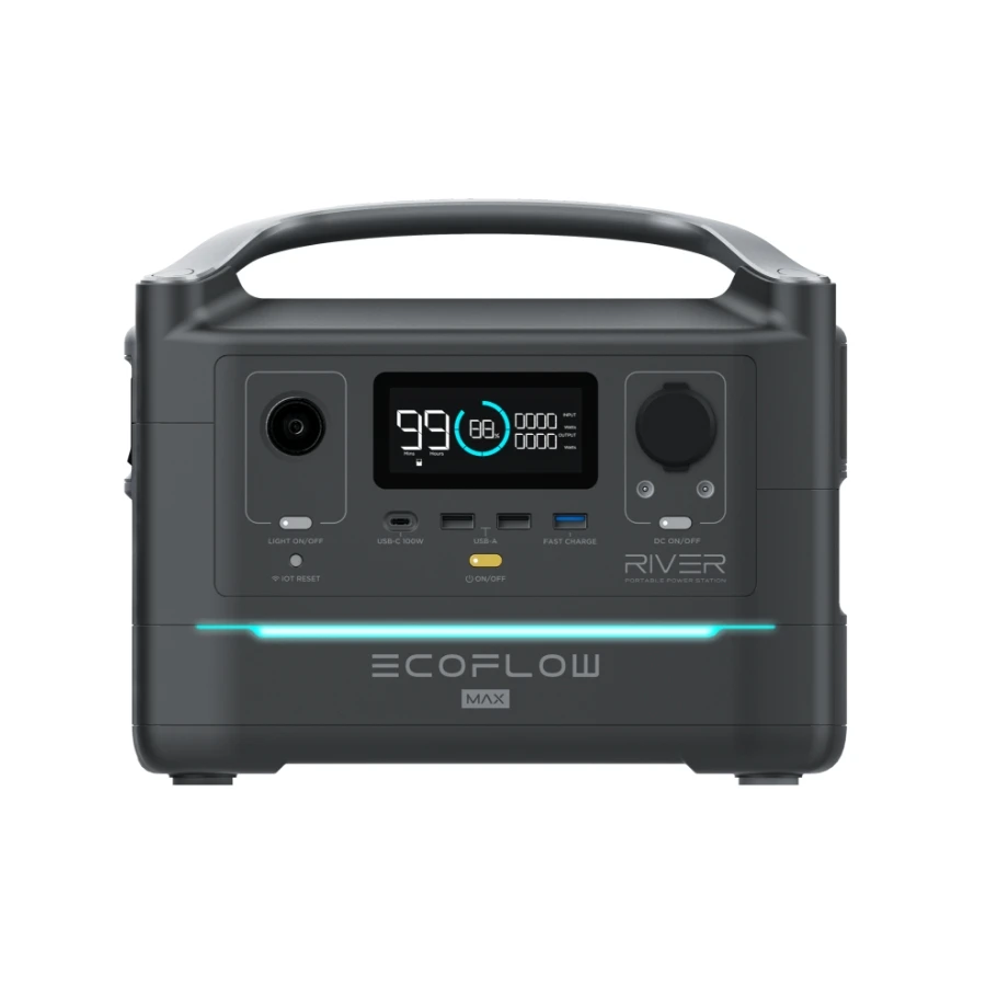ECO FLOW RIVER MAX (エコフロー リバー マックス) ポータブル電源 / Eco Flow(エコフロー)