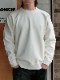 【WASEW】TOUGH BRAIDED SWEAT SHIRT WHITE