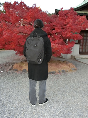 【SML】SQUARE 2WAY RUCK SACK