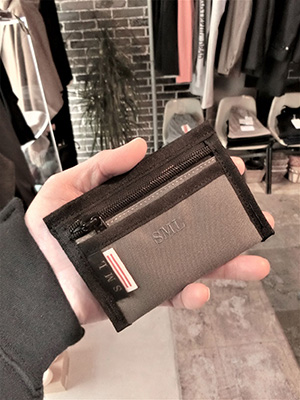 【SML】DRIVE WALLET  GRAY