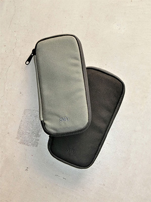 【SML】ROUND LONG WALLET GRAY