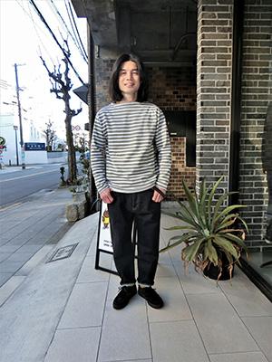 【SAINT JAMES】ウエッソン OLIVE/NEIGE