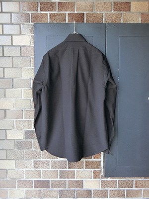 【WASEW】BD ONE OXFORED SHIRT BLACK