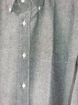 【WASEW】BD ONE OXFORED SHIRT GRAY