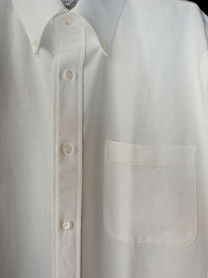 【WASEW】BD ONE OXFORED SHIRT WHITE