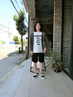 【WASEW】ONE EASY SHORTS BLACK