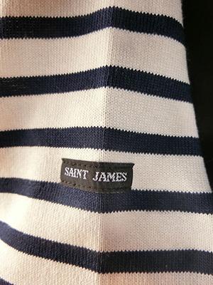 【SAINT JAMES】ウエッソン ECRU/MARINE