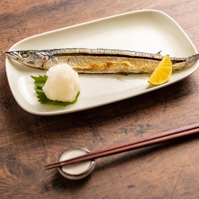 ★グッドプラス ARITA 角皿 アイボリー 【日本製(有田焼)】
