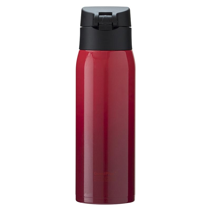 ★グッドプラス・真空断熱ステンレスマグボトル(エアゼロ)500mlグラデレッド