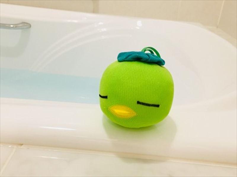 アカパックンお風呂用グリーン【お風呂用 200日仕様】