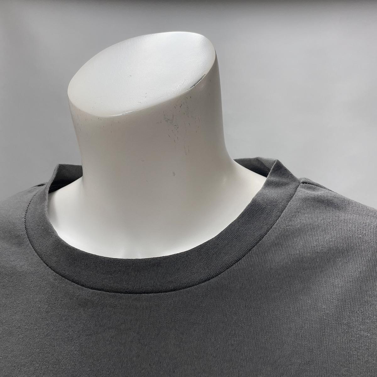 擦れ短丈Tシャツ