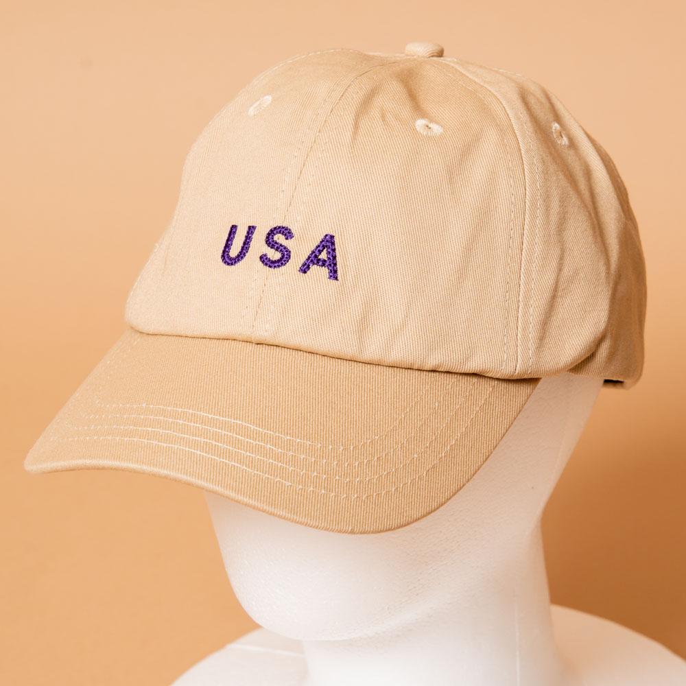 【NEW】USAキャップ