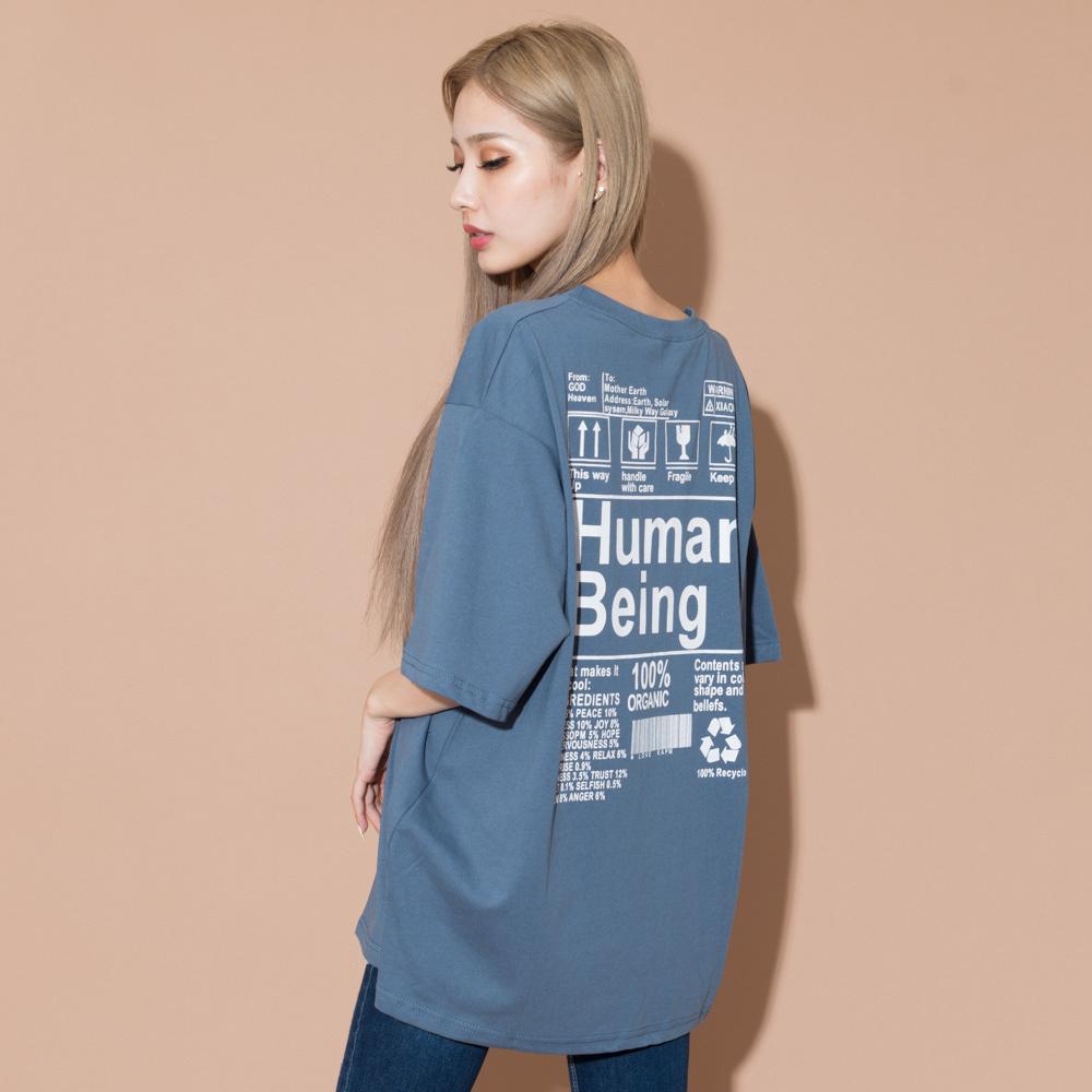 【5/11再入荷】HumanビッグTシャツ