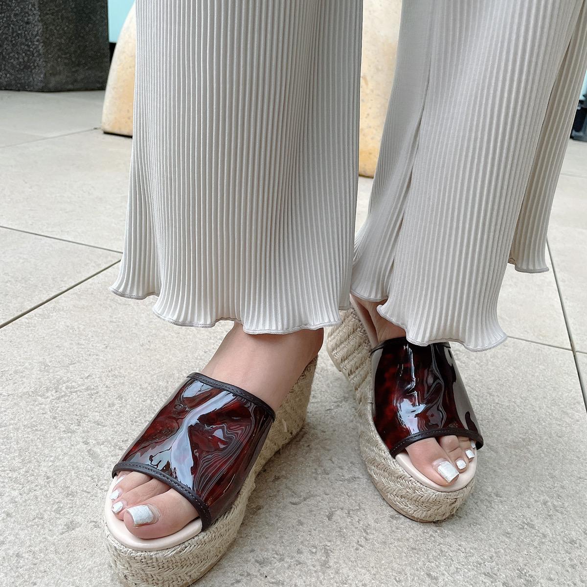 【7/20再入荷】プリーツセットアップ