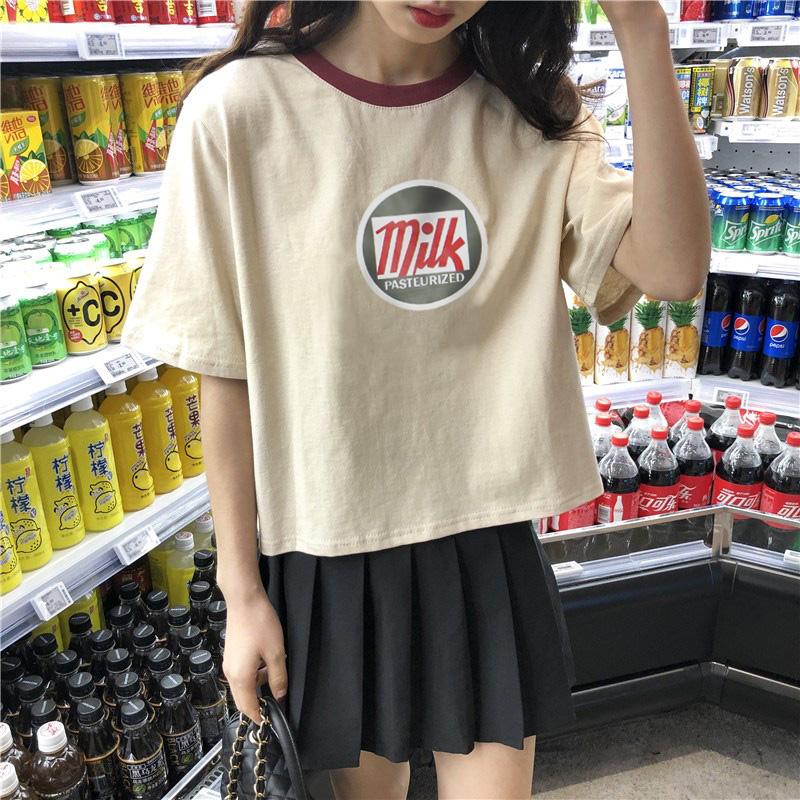 【6/11再入荷】【50%OFF】MILKTシャツ