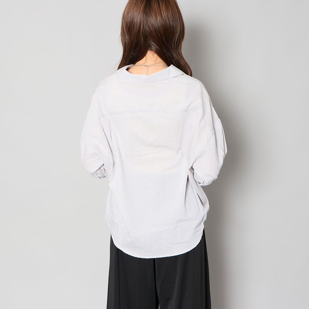 【ネコポス送料無料】タケノコタックシャツ