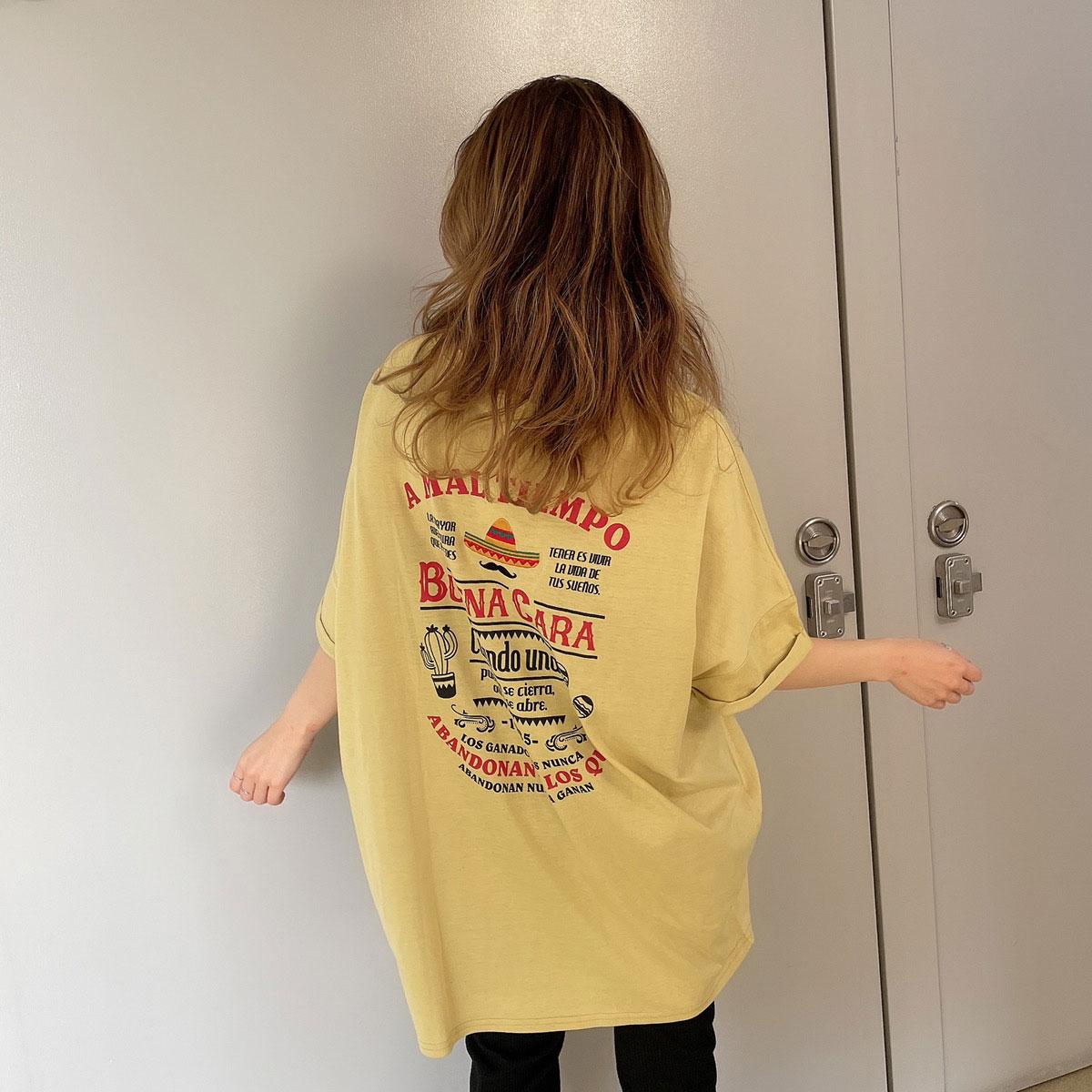 【4/8再入荷】メキシコBIGTシャツ