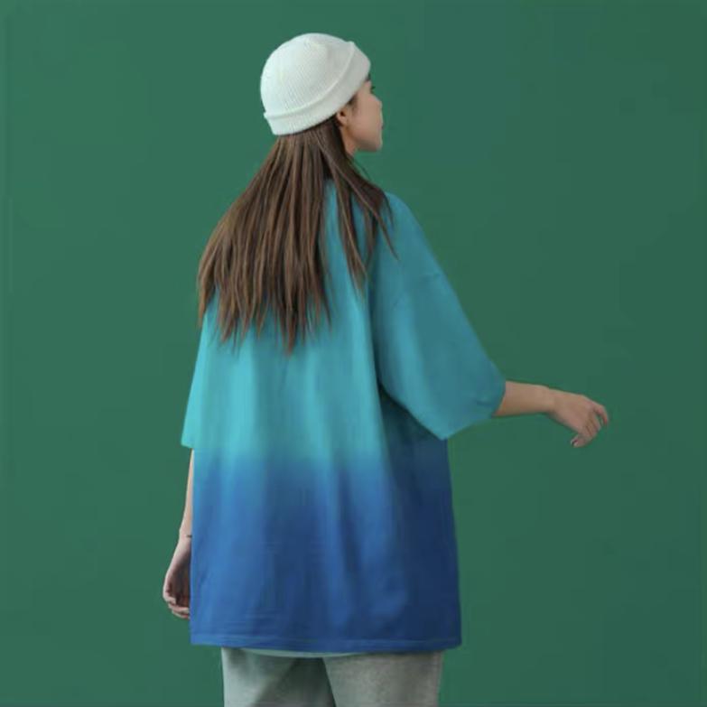 【50%OFF】エンボスグラデーションTシャツ
