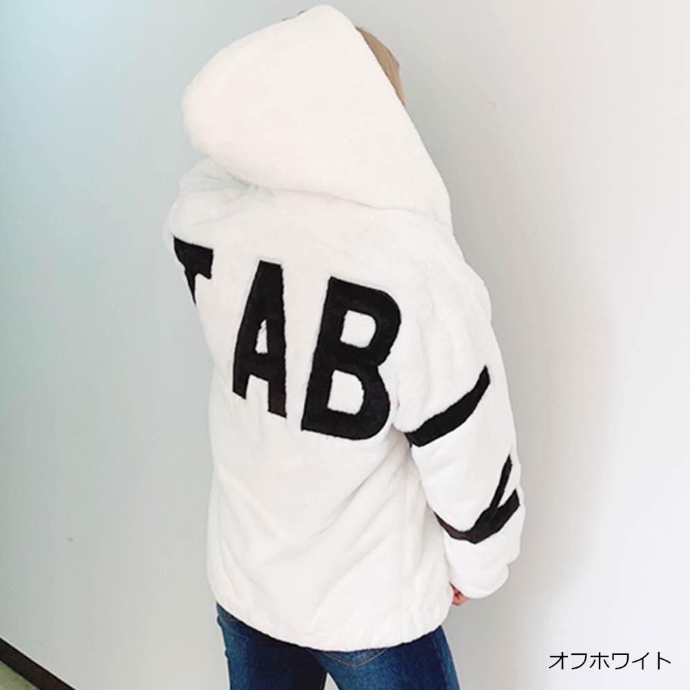 【12/28再入荷】バックロゴファーブルゾン