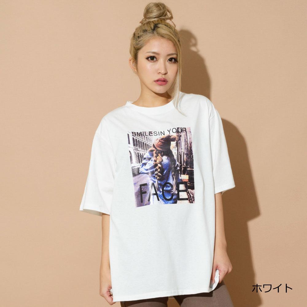 【ネコポス送料無料】FACE Tシャツ