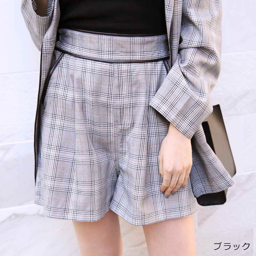 【2/9再入荷】パイピングショートパンツ