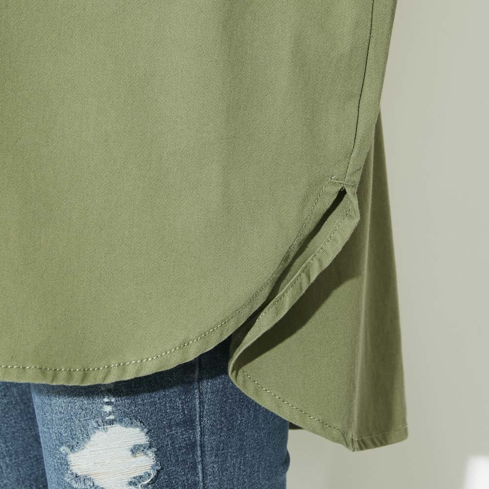 ツイルシャツジャケット