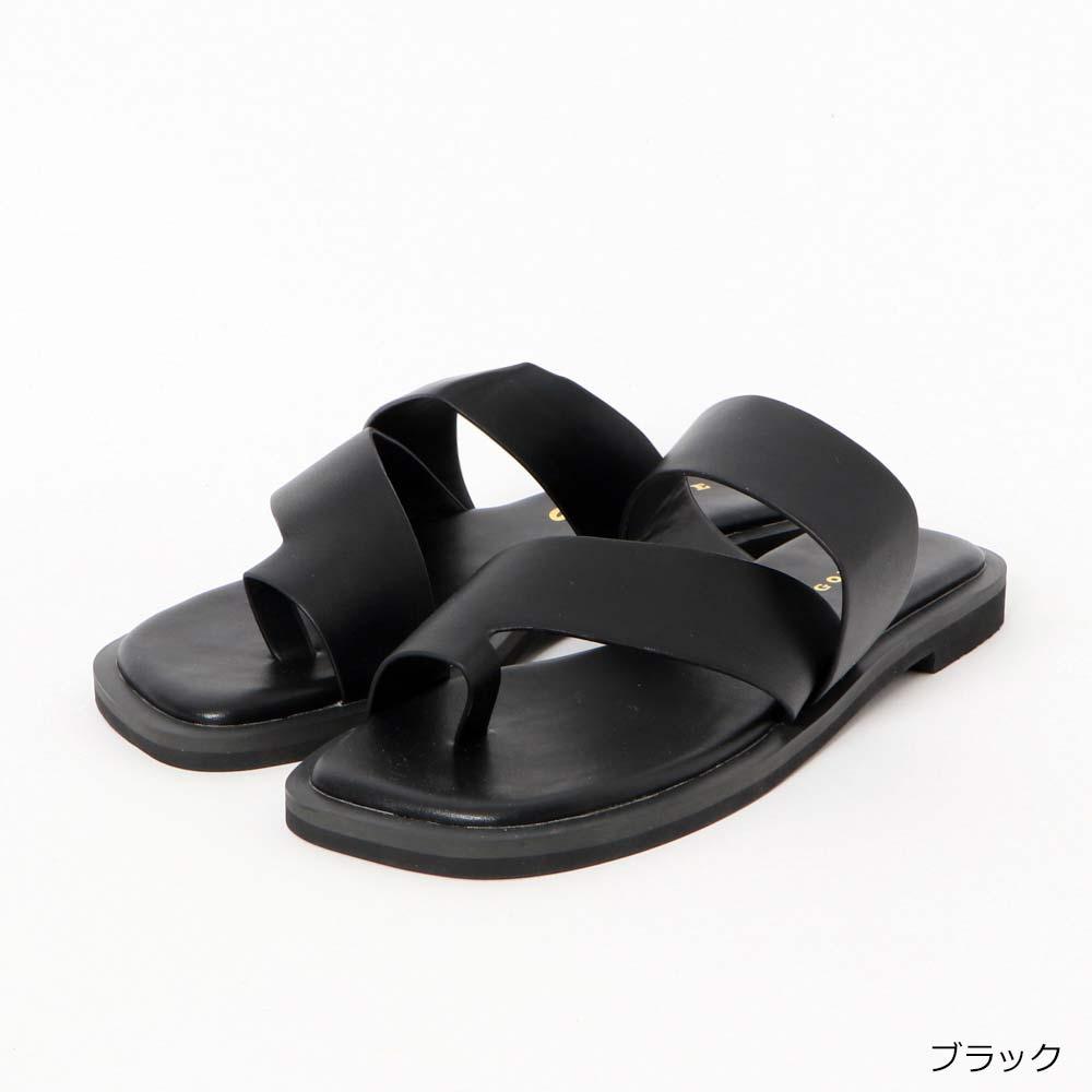 【4/14再入荷】フラットトングサンダル