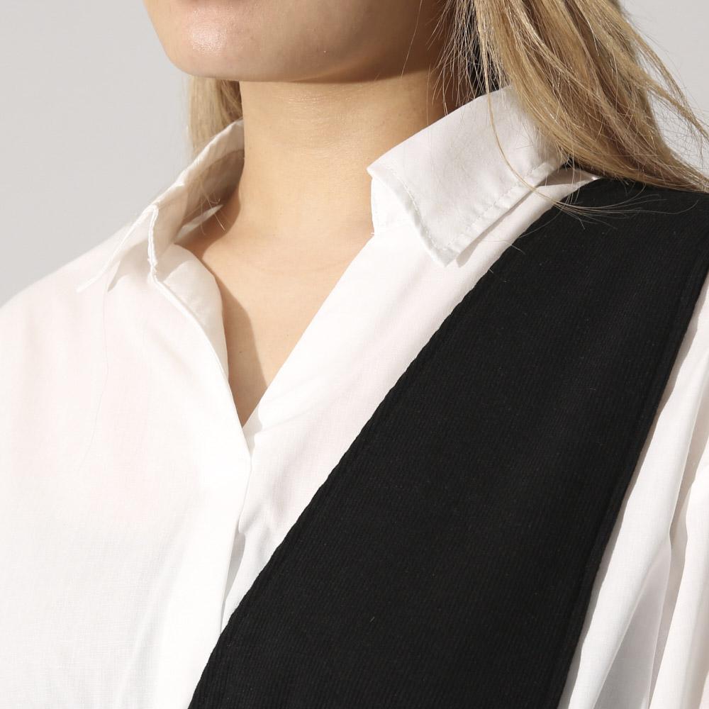 5分ワンショルドッキングシャツ