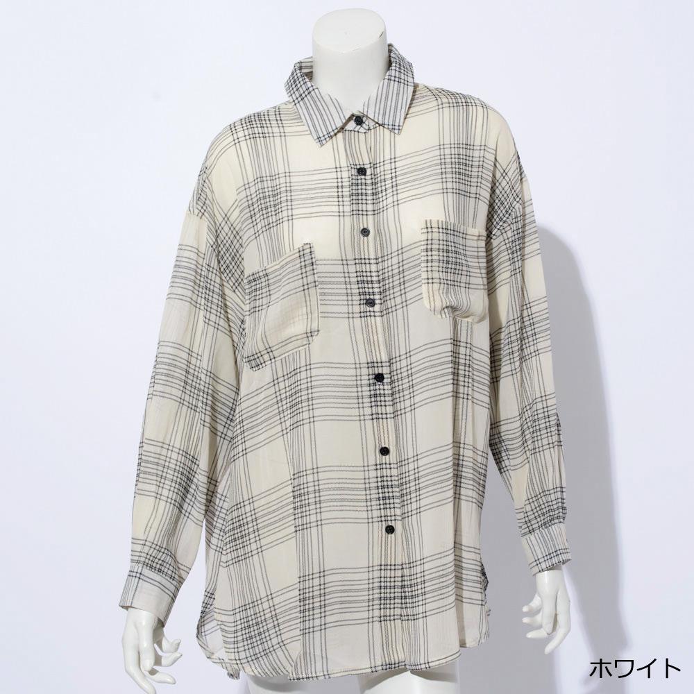 【新色追加】【ネコポス送料無料】シアーシャツ