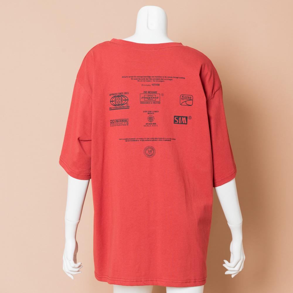 【再入荷】【ネコポス送料無料】MESSAGE Tシャツ