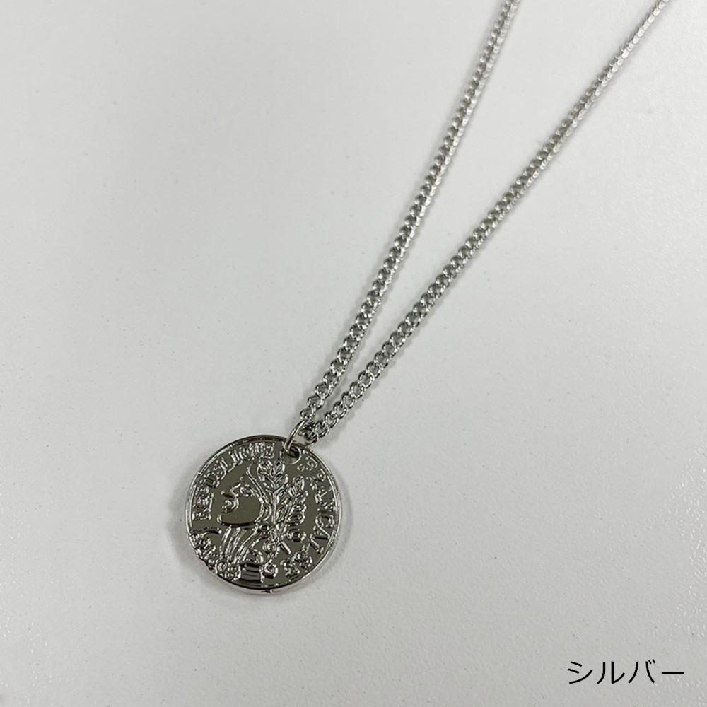 【ネコポス送料無料】サークルネックレス