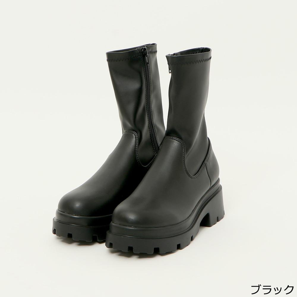 【9/21再入荷】ストレッチブーツ