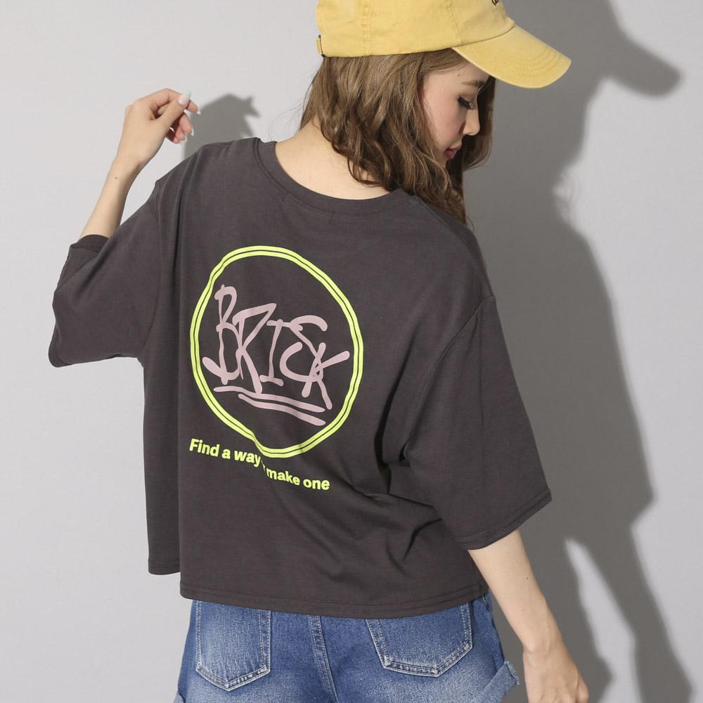 【ネコポス送料無料】BRISKショートTシャツ
