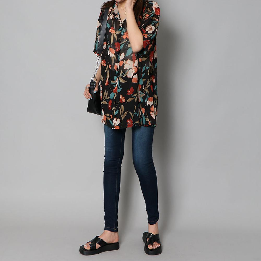 ハナガラシアーシャツ