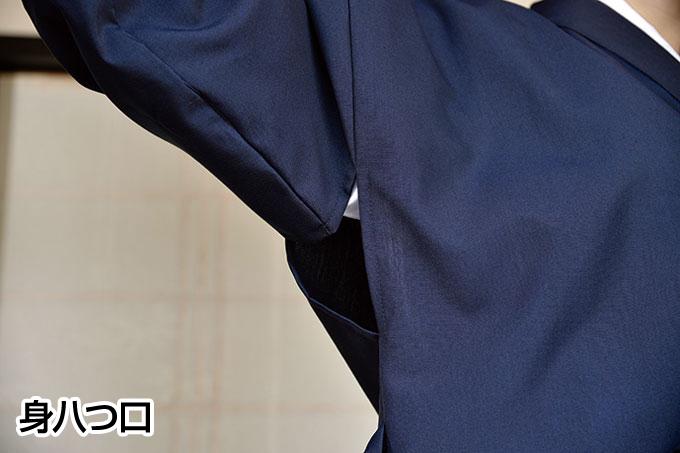 丈夫な女性用作務衣(黒・紺)(S-LL)