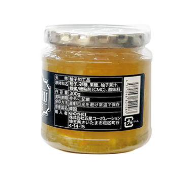 宋家HORERU柚子茶300g