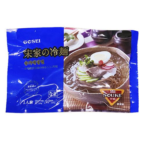 宋家ギフト-ソンガネ韓国のり・麺セット(ソンガネ韓国のり6缶、宋家の冷麺2個、宋家ジャジャン麺2個)
