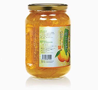 【半分】宋家柚子茶 1kg (6個入り 半ケース:業務用)