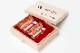 吉運手彫り印鑑(良き日の御祝印鑑/花嫁の印鑑) 2本セットC 【乳白水牛(牛の角):銀行印13.5mm丸+認印12.1mm丸】